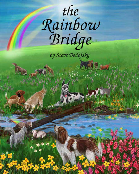 Order your copy of The Rainbow Bridge picture book through Amazon.
